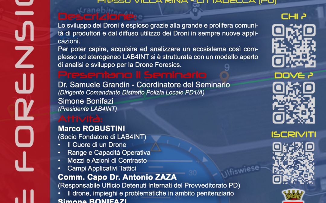 Cittadella – Drone Forensics