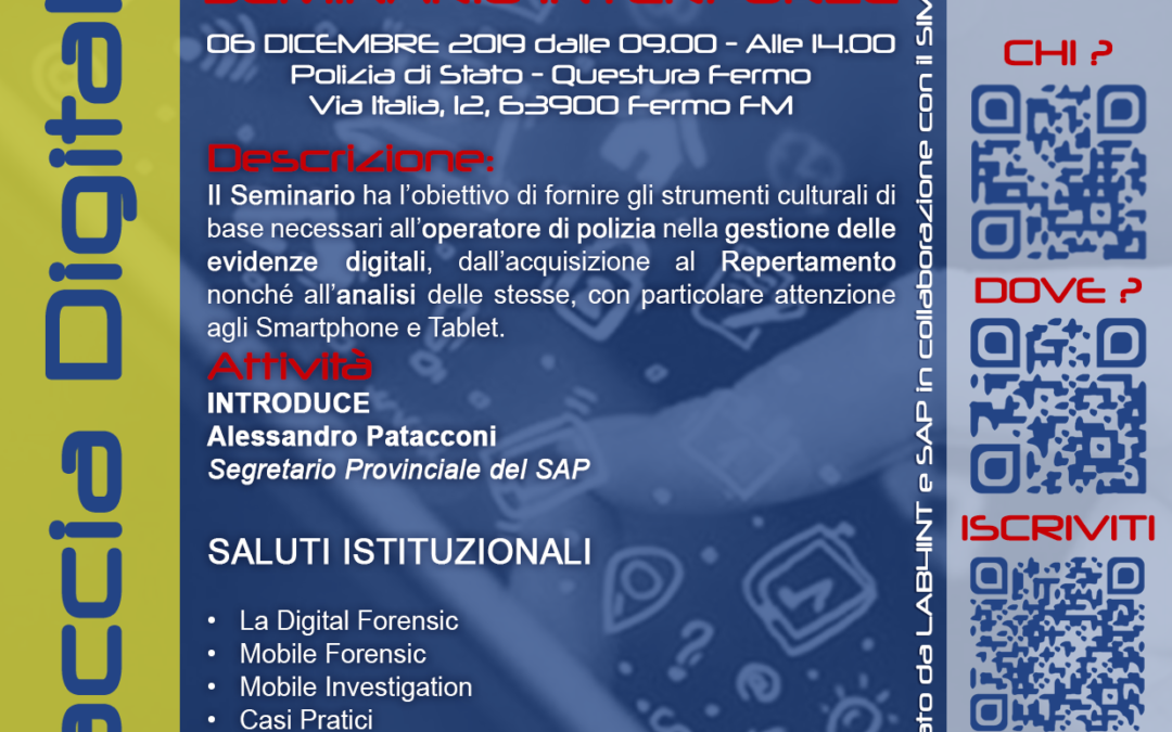 Fermo – Mobile Forensics