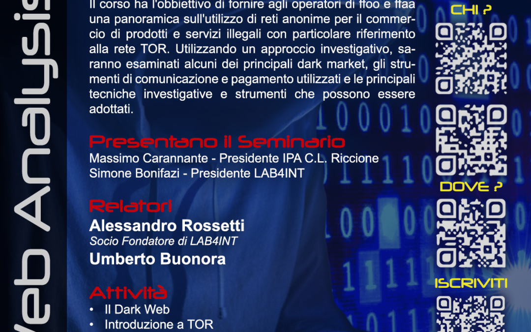 Riccione – DARKWEB ANALYSIS